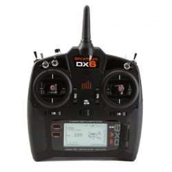 SPM6700 Spektrum DX6 w/AR610 Receiver by SPEKTRUM